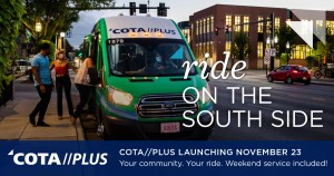 COTA Plus Starts on South Side