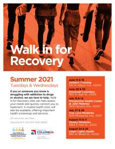 Walk in For Recovery